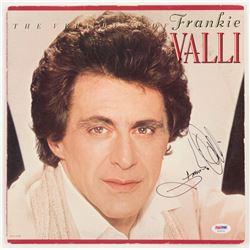 "Frankie Valli Signed ""The Very Best of Frankie Valli"" Vinyl Record Album Cover (PSA COA)"