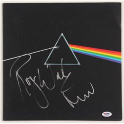 "Roger Waters  Nick Mason Signed Pink Floyd ""The Dark Side of the Moon"" Vinyl Record Album Cover (PSA"