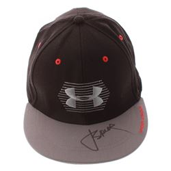 Jordan Spieth Signed Under Armour Fitted Hat (PSA COA)
