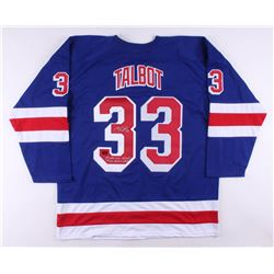 """Cam Talbot Signed Jersey Inscribed """"1st NHL Win 10/26/13""""  """"1st NHL Shutout 11/16/13"""" (Talbot COA)"""