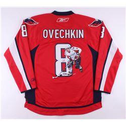 Alexander Ovechkin Signed LE Washington Capitals Hand-Painted Jersey (PSA Hologram  Ovechkin Hologra