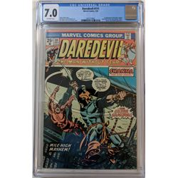 "1974 ""Daredevil"" Issue #111 Marvel Comic Book (CGC 7.0)"