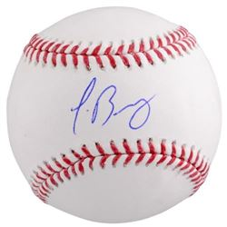 Javier Baez Signed OML Baseball (Fanatics Hologram)