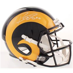Robert Woods Signed Los Angeles Rams Full-Size Speed Helmet (Beckett COA)