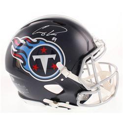 Corey Davis Signed Tennessee Titans Full-Size Authentic On-Field Speed Helmet (Beckett COA)