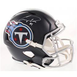 Corey Davis Signed Tennessee Titans Full-Size Speed Helmet (Beckett COA)