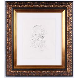 "Stanley Mouse Signed 28x31.25 Custom Framed Sketch Inscribed ""2004""  ""Red Rocks"" (Beckett LOA)"