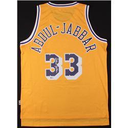 Kareem Abdul-Jabbar Signed Jersey (Beckett COA)