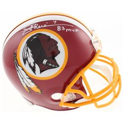 "Joe Theismann Signed Washington Redskins Full-Size Helmet Inscribed ""83 MVP"" (JSA COA)"