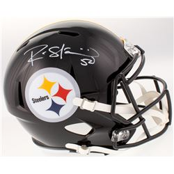 Ryan Shazier Signed Pittsburgh Steelers Full-Size Speed Helmet (Beckett COA)