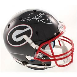 Hines Ward Signed Georgia Bulldogs Full-Size Helmet (JSA COA)