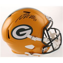 Davante Adams Signed Green Bay Packers Full-Size Speed Helmet (Beckett COA)