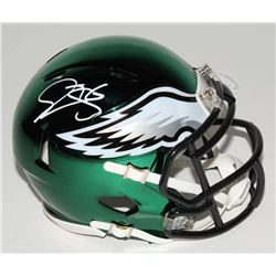 Donovan McNabb Signed Philadelphia Eagles Chrome Speed Mini-Helmet (JSA COA)