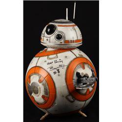 "Brian Herring Signed Disney ""Star Wars: The Force Awakens"" Big-Figs Deluxe 18"" Custom Hand-Painted B"