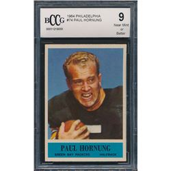 1964 Philadelphia #74 Paul Hornung (BCCG 9)