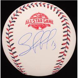 Salvador Perez Signed 2018 All-Star Baseball (JSA COA)