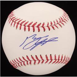 Byron Buxton Signed OML Baseball (JSA COA)