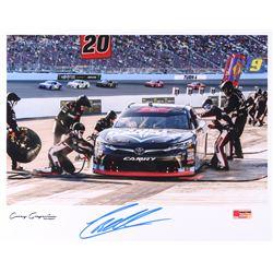 Christopher Bell Signed NASCAR 11x14 Photo - 2018 Phoenix Win (PA COA)