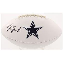 Jaylon Smith Signed Dallas Cowboys Logo Football (Radtke COA)