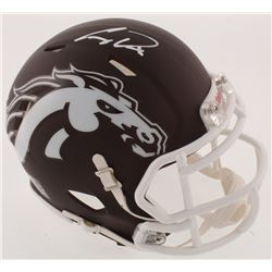 Corey Davis Signed Western Michigan Broncos Speed Mini-Helmet (Radtke COA)