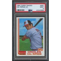 1982 Topps Traded #98T Cal Ripken RC (PSA 9)