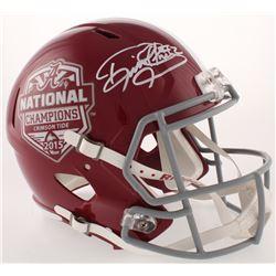 Derrick Henry Signed 2015 National Champions Alabama Crimson Tide Full-Size Speed Helmet (Radtke COA