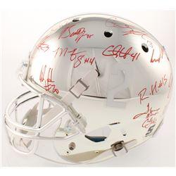 Alabama Crimson Tide Modern Greats Chrome Full-Size Helmet Signed by (20) with Mark Ingram Jr., Derr