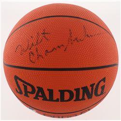 Wilt Chamberlain Signed NBA Basketball (SGC LOA)