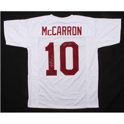 "AJ McCarron Signed Jersey Inscribed ""Roll Tide"" (Radtke COA)"