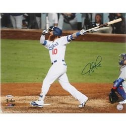 Justin Turner Signed Los Angeles Dodgers 16x20 Photo (Beckett COA)