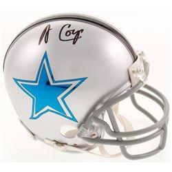 Amari Cooper Signed Dallas Cowboys Mini Helmet (JSA COA)