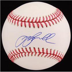 Jeff Bagwell Signed OML Baseball (JSA COA)