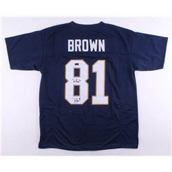 Tim Brown Signed Jersey (Radtke Hologram)