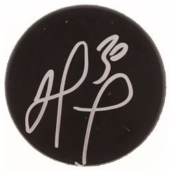 Matt Murray Signed Hockey Puck (JSA COA)