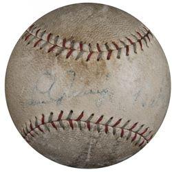 Lou Gehrig  Babe Ruth Signed Spalding Baseball (PSA LOA)