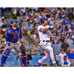 "Cody Bellinger Signed Los Angeles Dodgers ""Home Run"" 16x20 Photo (Fanatics Hologram  MLB Hologram)"
