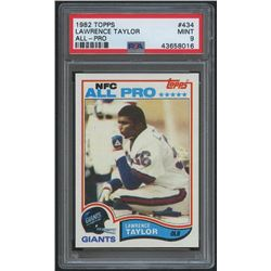 1982 Topps #434 Lawrence Taylor RC (PSA 9)