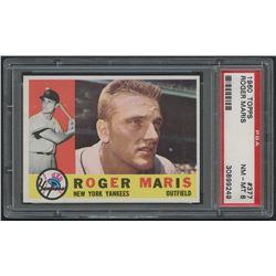 1960 Topps #377 Roger Maris (PSA 8)
