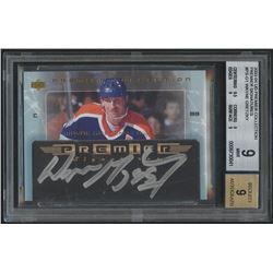 2003-04 UD Premier Collection Signatures #PSG1 Wayne Gretzky (BGS 9)