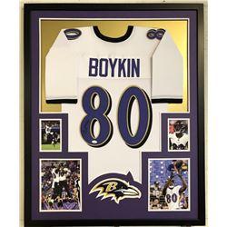 Miles Boykin Signed 34x42 Custom Framed Jersey (JSA COA)