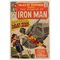 """1964 """"Tales Of Suspence"""" Issue #53 Marvel Comic Book"""