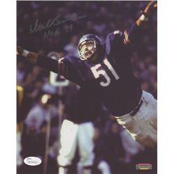 "Dick Butkus Signed Chicago Bears 8x10 Photo Inscribed ""HOF 79"" (JSA COA)"