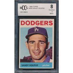 1964 Topps #200 Sandy Koufax (BCCG 8)