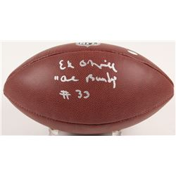 "Ed O'Neill Signed NFL Football Inscribed ""Al Bundy""  ""#33"" (Schwartz COA)"