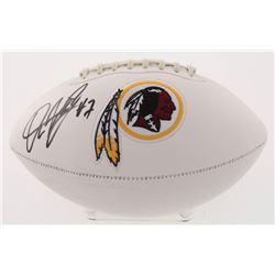 Dwayne Haskins Signed Washington Redskins Logo Football (Beckett COA)