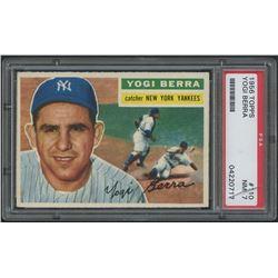1956 Topps #110 Yogi Berra (PSA 7)