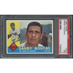 1960 Topps #343 Sandy Koufax (PSA 7)
