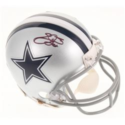 Emmitt Smith Signed Dallas Cowboys Mini Helmet (Beckett COA  Prova Hologram)