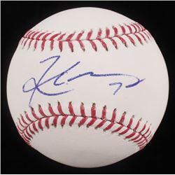 Kyler Murray Signed OML Baseball (Beckett COA)