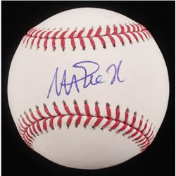 Magic Johnson Signed OML Baseball (Beckett COA)